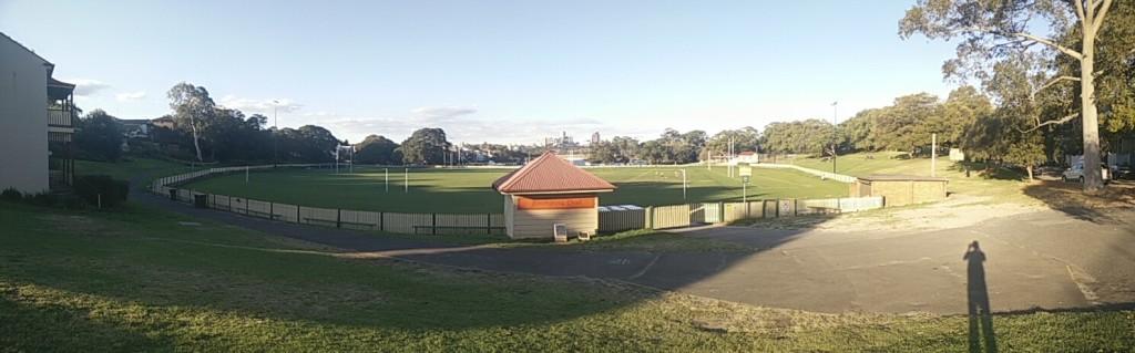 Panorama Birchgrove Oval